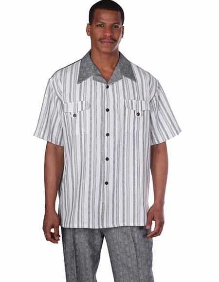 Summer Striped Short Sleeve