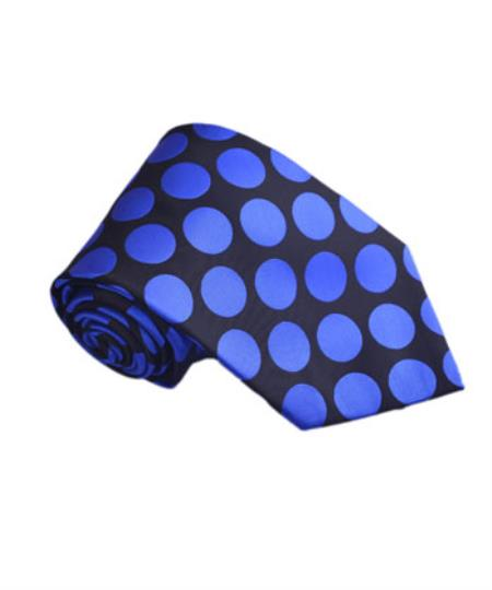 Mens Royal Blue Polyester