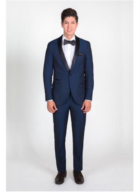 Navy Blue Slim Fit