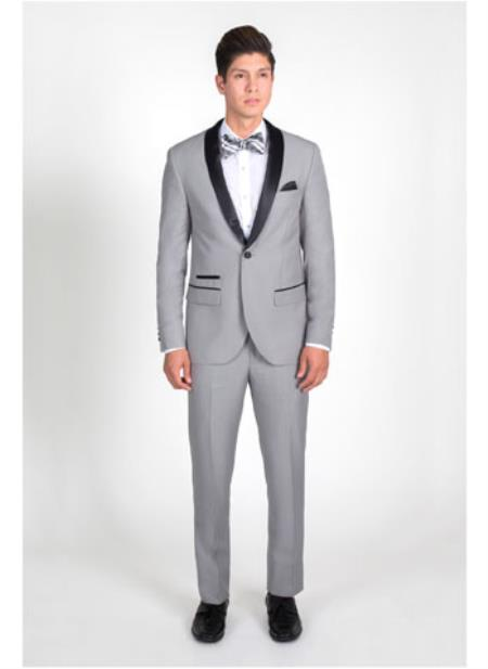 Light Grey Slim Fit