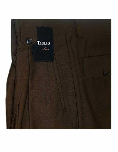 Italian Mens Brown 100%