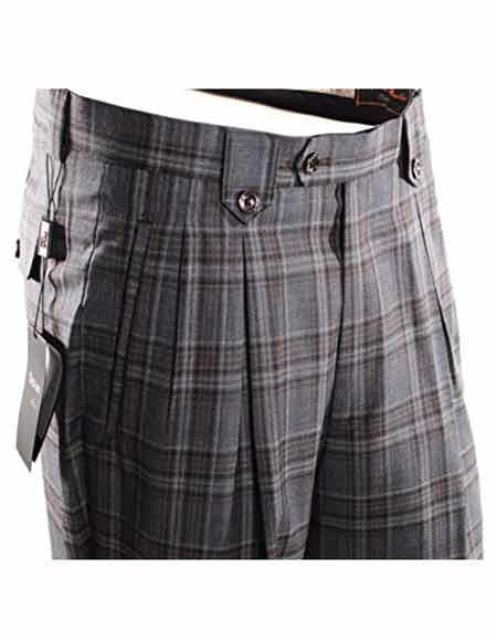 Mens Plaid Pattern 100%
