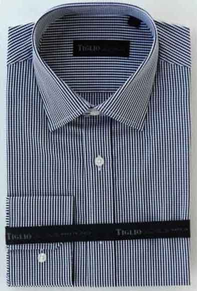 Mens Cotton Gingham Black/White
