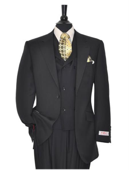 Rosso Mens Suit Solid