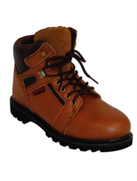 Cowhide Steel Toe Lace-up