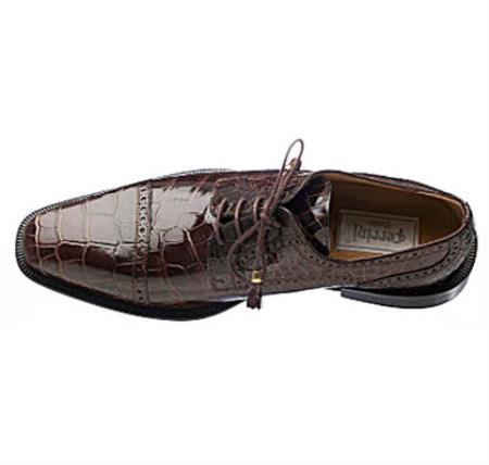 Handcrafted Alligator Dress Shoe