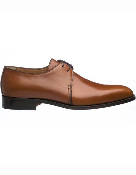Mens Plain Toe Brown