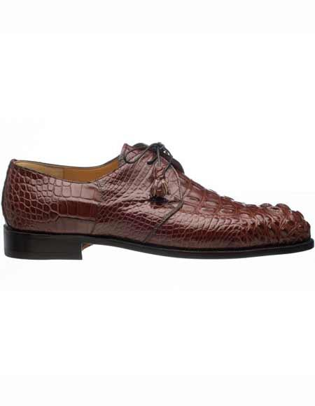 Mens Genuine Rust Hornback
