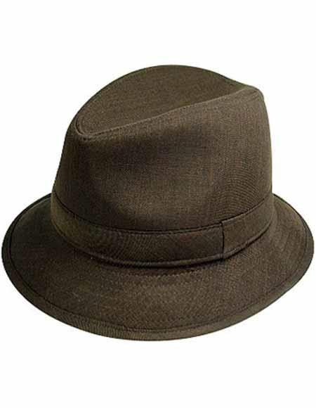 1960s -1970s Men's Clothing Mens 2017 New Style Designer Felt Bucket Hat Brown $39.00 AT vintagedancer.com