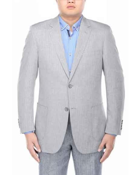Mens Italian Styled Grey