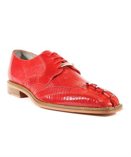 Topo Red Oxford Belvedere