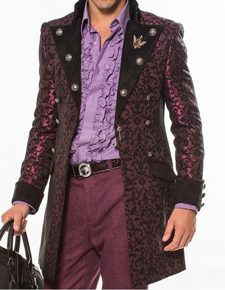 Fashion Long Coat Cosimo