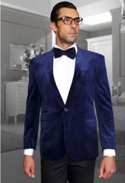 Navy Velvet Fabric Discounted