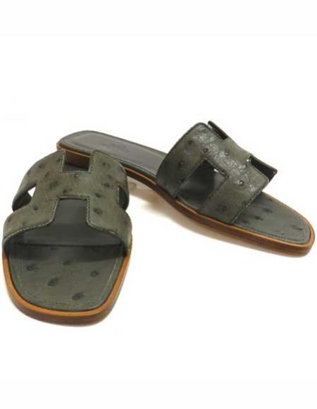 Ostrich Sandale Available In