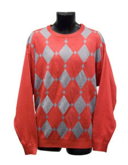 Red Crew Neck Sweaters