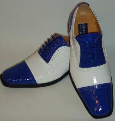 Faux Croco Dress Shoes