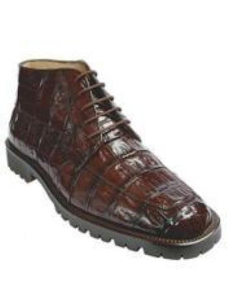 Belvedere Ugo Navy Mens Boot $465