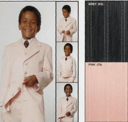 SKU#RA311 Boys 3 Piece Suit $99