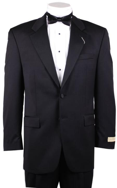 SKU#MM341 Mens 1/2 Buttons Black Tuxedo Blazer / Jacket / Dinner Jacket Only no pant price