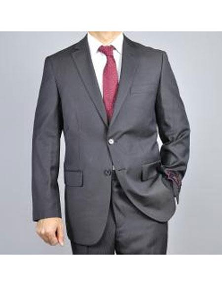 Buy CH1369 Mens Two Buttons Tonal Authentic Giorgio Fiorelli Brand suits Flat Front Pants