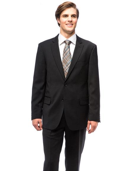 Buy CH1380 Men's Single Breasted Modern Fit Authentic Giorgio Fiorelli Brand suits Flat Front Pants