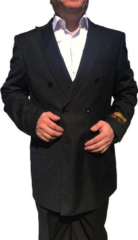 1920s Men's Clothing Alberto Nardoni Double Breasted Suits $199.00 AT vintagedancer.com