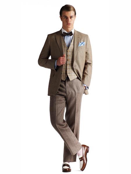 Buy MO437 Brooks Brothers Gatsby Combination Vest Belt