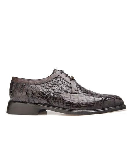 Susa Belvedere Mens Brown Color Cushion Insole Leather Lining Shoes