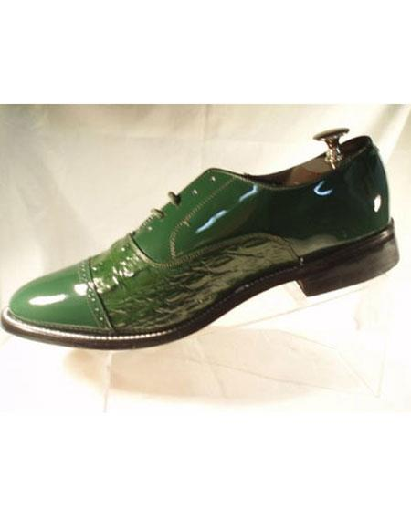 Green Horn Back Shoes