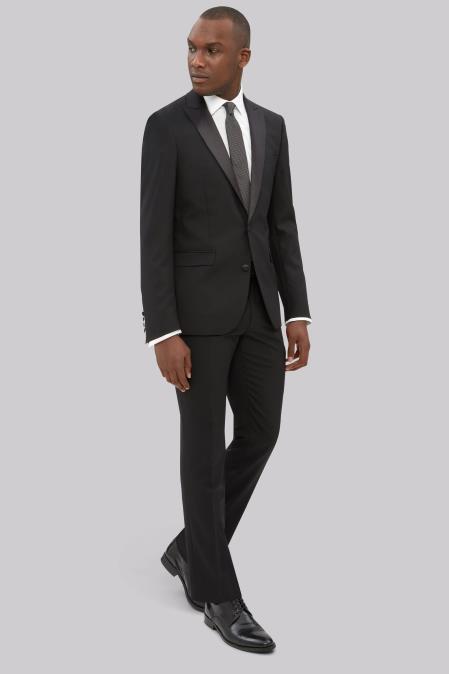 Men's  Slim Fit Black