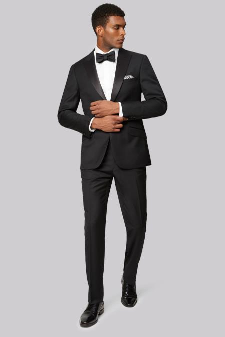 Men's  Fully Lined Jacket Black