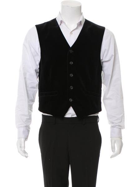 Mens Vest Black