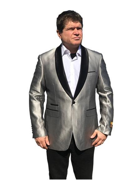 Men's Gray Cheap Priced Fashion big and tall Sport coats