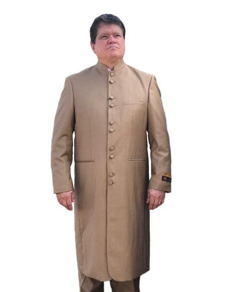 08a5c7a0 SKU#JA417 Mens Cheap Fashion big and tall Plus Size Sport coats Jackets  Blazer For Guys Tan