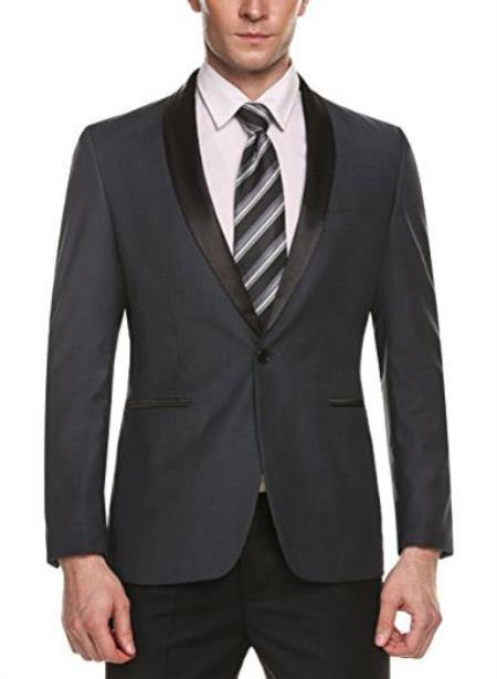 Mens Cheap Priced Fashion big and tall Plus Size Sport coats Jackets Blazer For Guys Grey