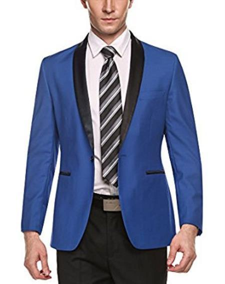 Mens Cheap Priced Fashion big and tall Plus Size Sport coats Jackets Blazer For Guys Light Blue