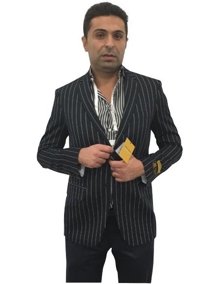 Men's Cheap Priced Designer Fashion Dress Casual Blazer On Sale Black  Two Button Blazer Sport Coat Blazer