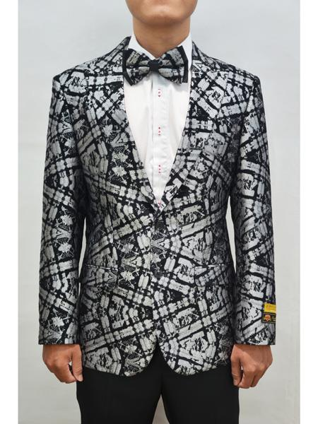 Mens Paisley Floral Fancy blazer