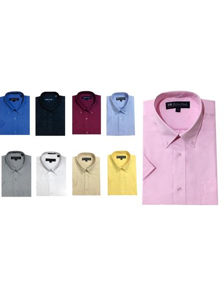 Button-Down Point Collar Oxford Multicolor