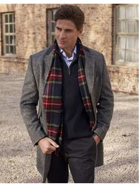 Mens Overcoat Mens Car Coat Mens Grey Dress Coat Long Jacket Wool Designer Men's Wool Men's Peacoat Sale