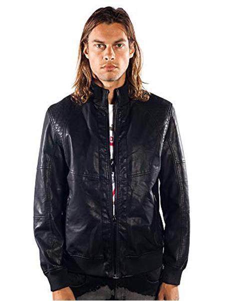 Mens Barabas Dodge Regular Fit Black Jacket