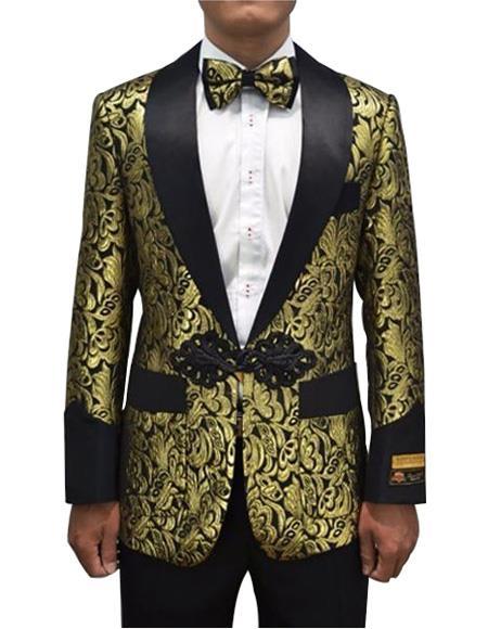 Cheap Priced Men's Printed Unique Patterned Print Floral Tuxedo Flower Jacket Prom custom celebrit