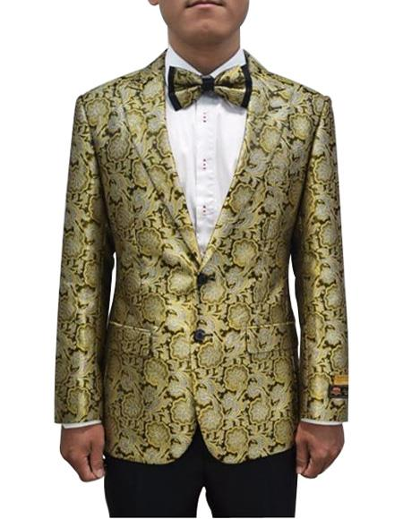 Cheap Priced Mens Printed Unique Patterned Print Floral Tuxedo Flower Jacket Prom custom celebrit