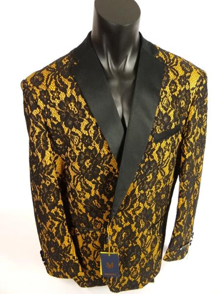 Mens Blazer Sport Coat Single Breasted Shawl Lapel Jacket White Caramel Black