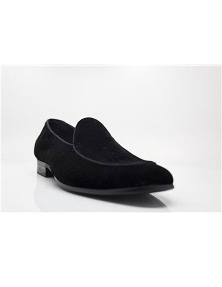 Mens Carrucci Black Lace Up Shoe