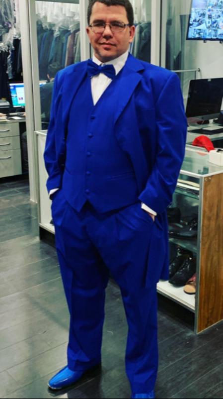 Men's   Dark Blue Suit