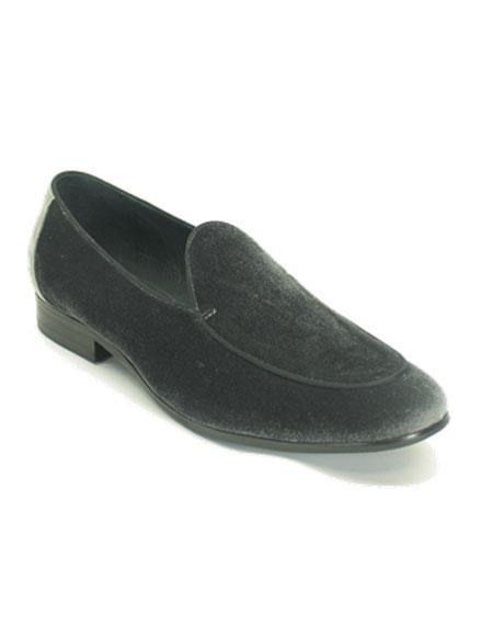 Men's Tuxedo Shoes Gray Shoe For Men Perfect for Wedding