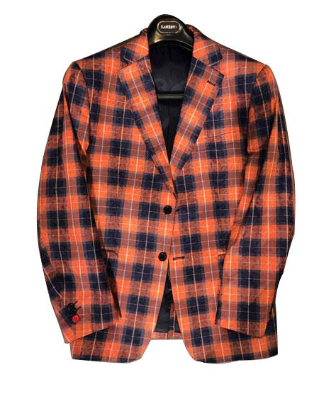 Men's Plaid ! Window Pane Blazer Sport Coat