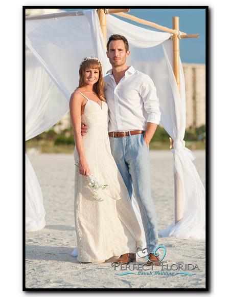 Mens Beach Wedding Attire Suit Menswear Gray