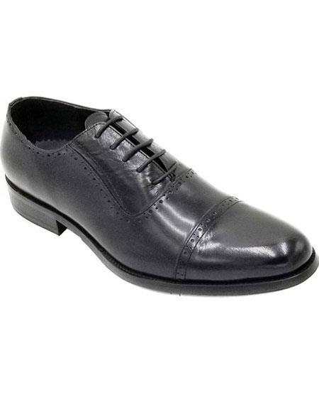 Men's Lace Up Premium Soft Genuine leather Unique Zota Men's Dress Shoe